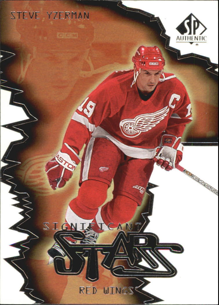 2000-01 SP Authentic Significant Stars #ST3 Steve Yzerman