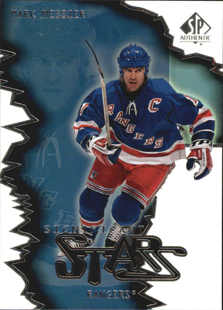 2000-01 SP Authentic Significant Stars #ST5 Mark Messier