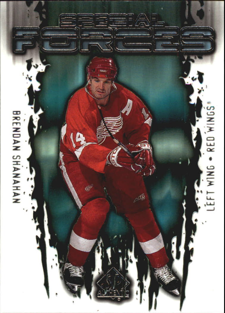 2000-01 SP Authentic Special Forces #SF3 Brendan Shanahan