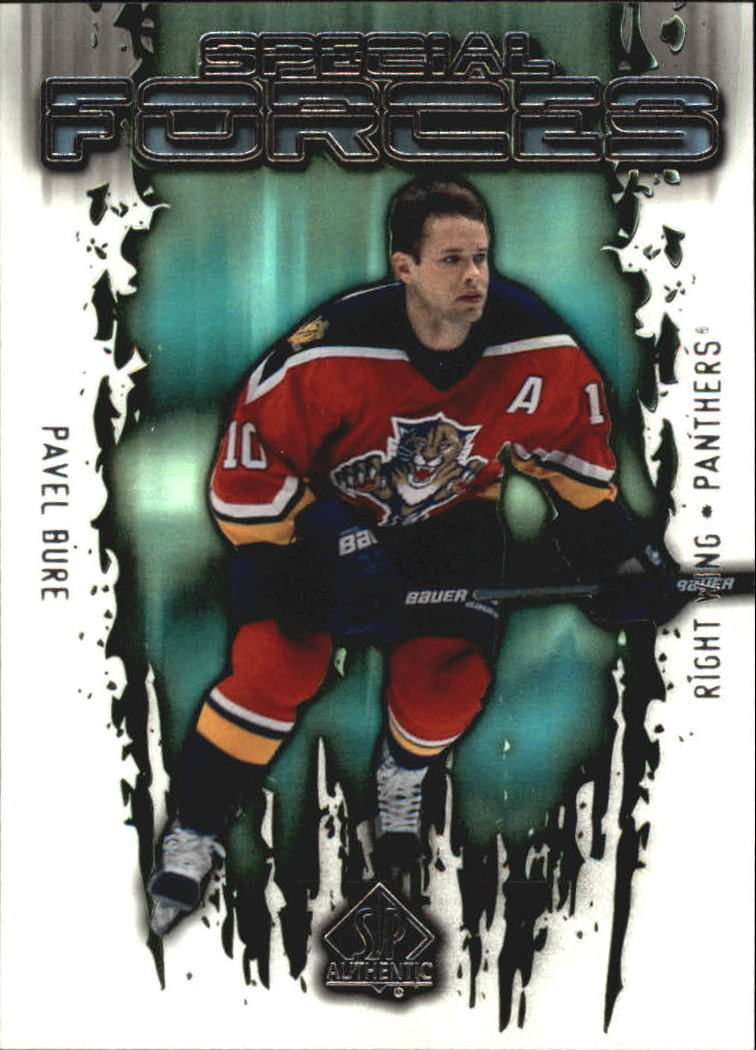 2000-01 SP Authentic Special Forces #SF4 Pavel Bure