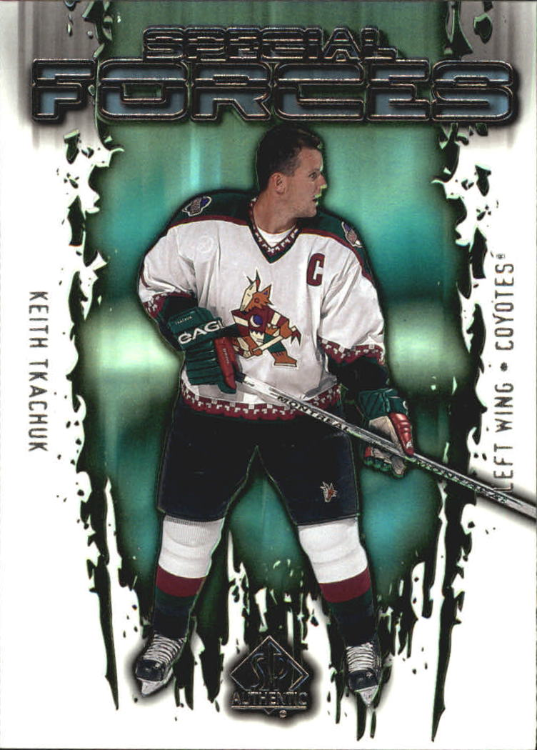 2000-01 SP Authentic Special Forces #SF6 Keith Tkachuk