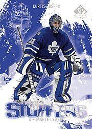 2000-01 SP Authentic Super Stoppers #SS6 Curtis Joseph