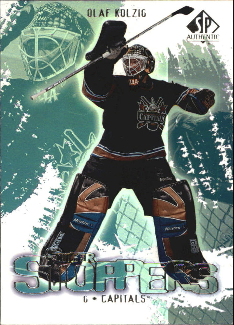 2000-01 SP Authentic Super Stoppers #SS7 Olaf Kolzig