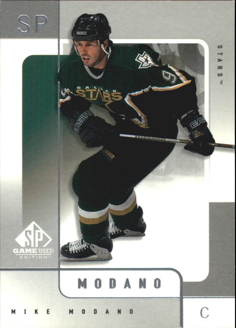 2000-01 SP Game Used #18 Mike Modano