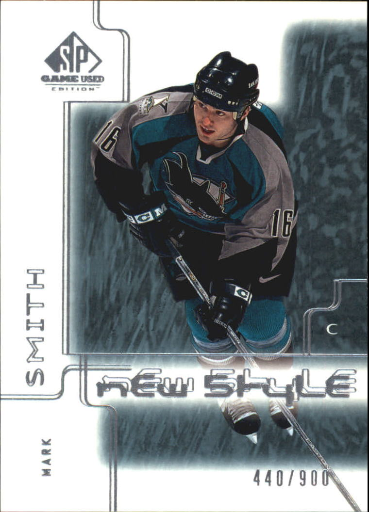 2000-01 SP Game Used #81 Mark Smith RC