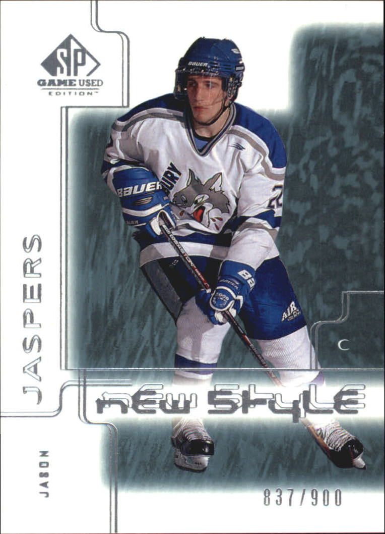 2000-01 SP Game Used #88 Jason Jaspers RC