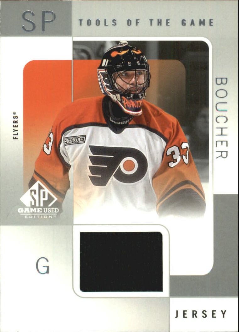 2000-01 SP Game Used Tools of the Game #BB Brian Boucher