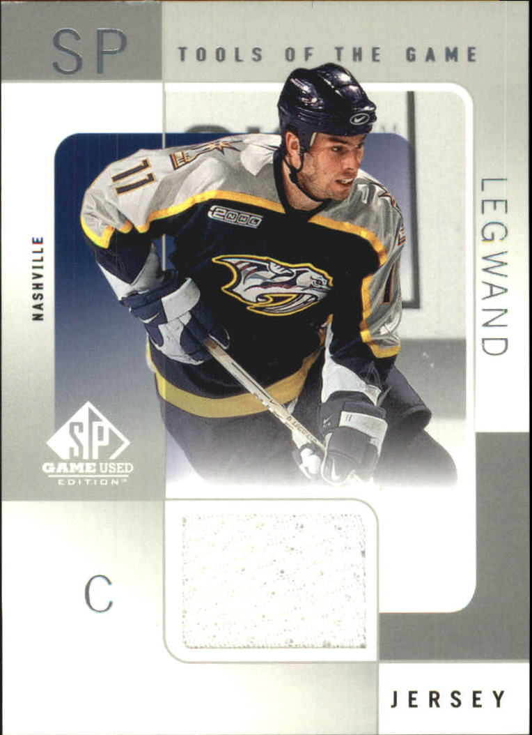 2000-01 SP Game Used Tools of the Game #DL David Legwand