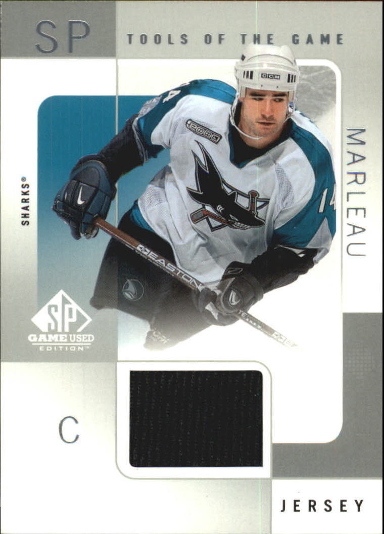 2000-01 SP Game Used Tools of the Game #PM Patrick Marleau