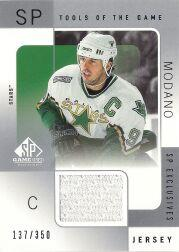2000-01 SP Game Used Tools of the Game Exclusives #MO Mike Modano