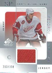 2000-01 SP Game Used Tools of the Game Exclusives #SF Sergei Fedorov