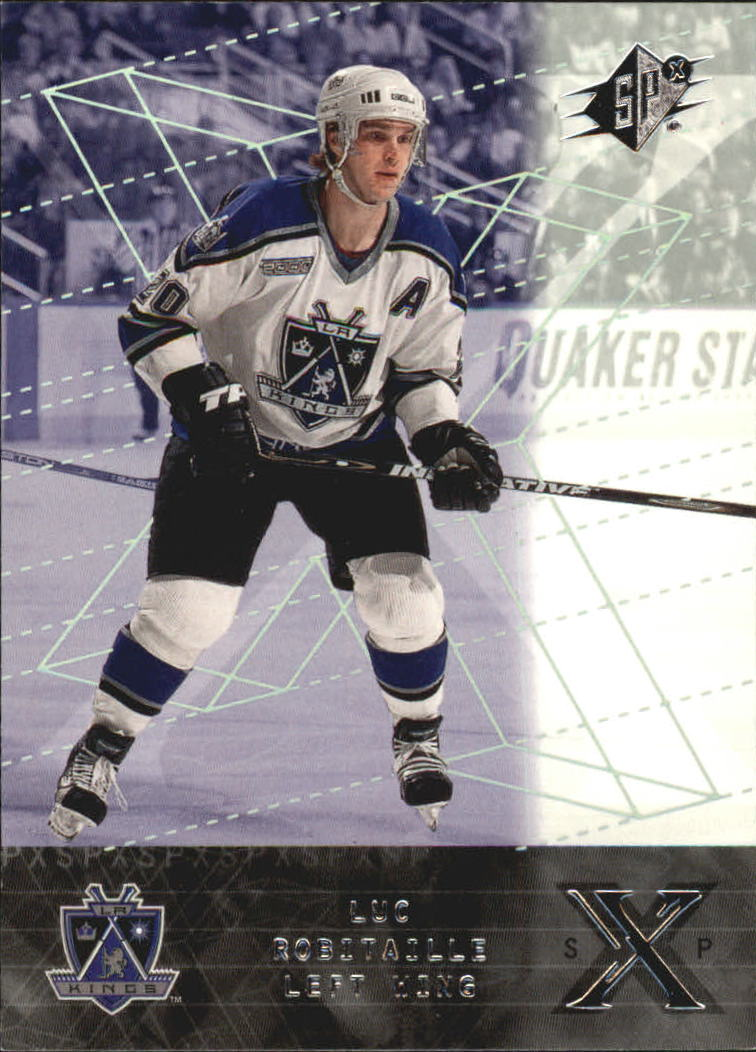 2000-01 SPx #33 Luc Robitaille