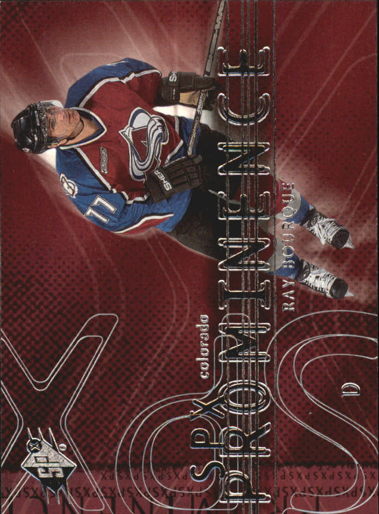 2000-01 SPx #84 Ray Bourque PRO