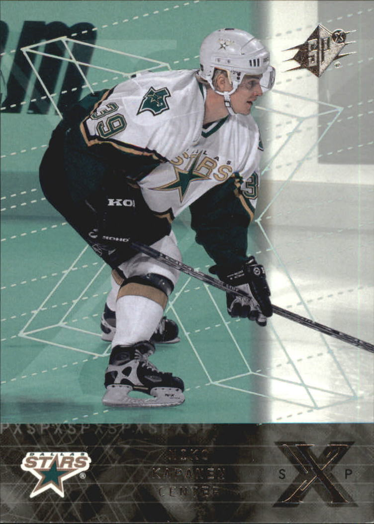 2000-01 SPx Rookie Redemption #RR10 Niko Kapanen