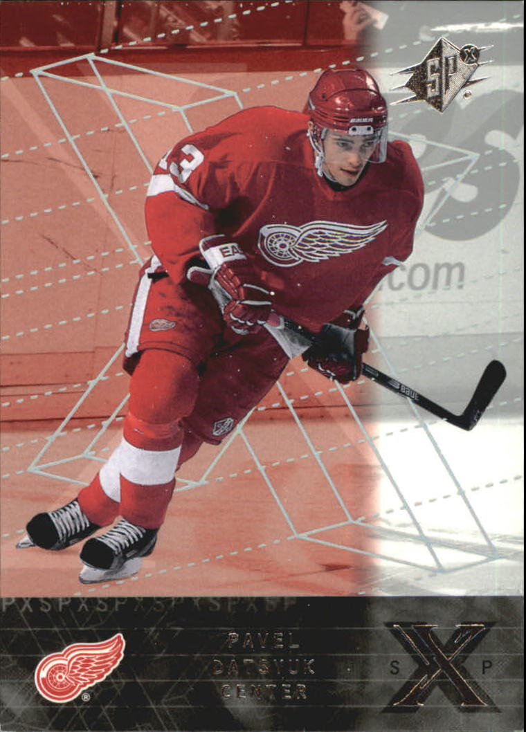 2000-01 SPx Rookie Redemption #RR11 Pavel Datsyuk
