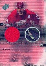 2000-01 SPx Winning Materials #BS Brendan Shanahan