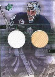 2000-01 SPx Winning Materials #CJ Curtis Joseph