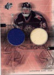 2000-01 SPx Winning Materials #DH Dominik Hasek