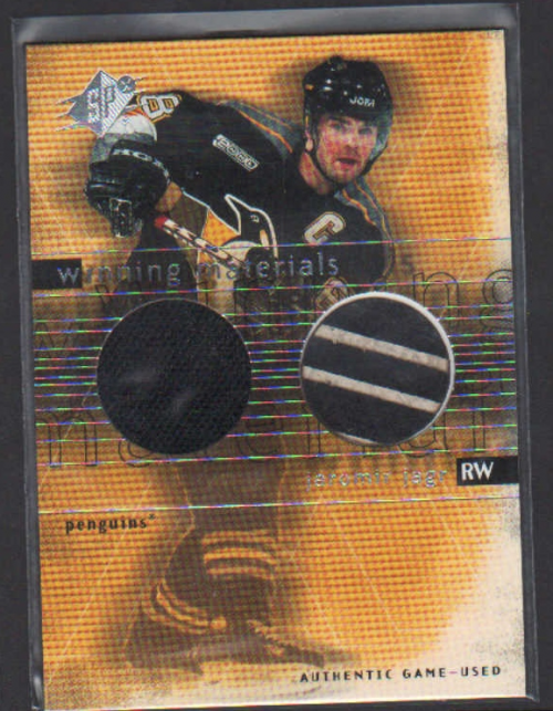 2000-01 SPx Winning Materials #JJ Jaromir Jagr