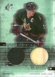 2000-01 SPx Winning Materials #WTK Keith Tkachuk Upd