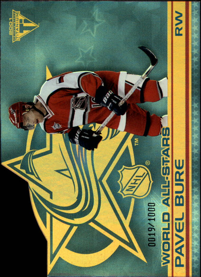 2000-01 Titanium All-Stars #5W Pavel Bure