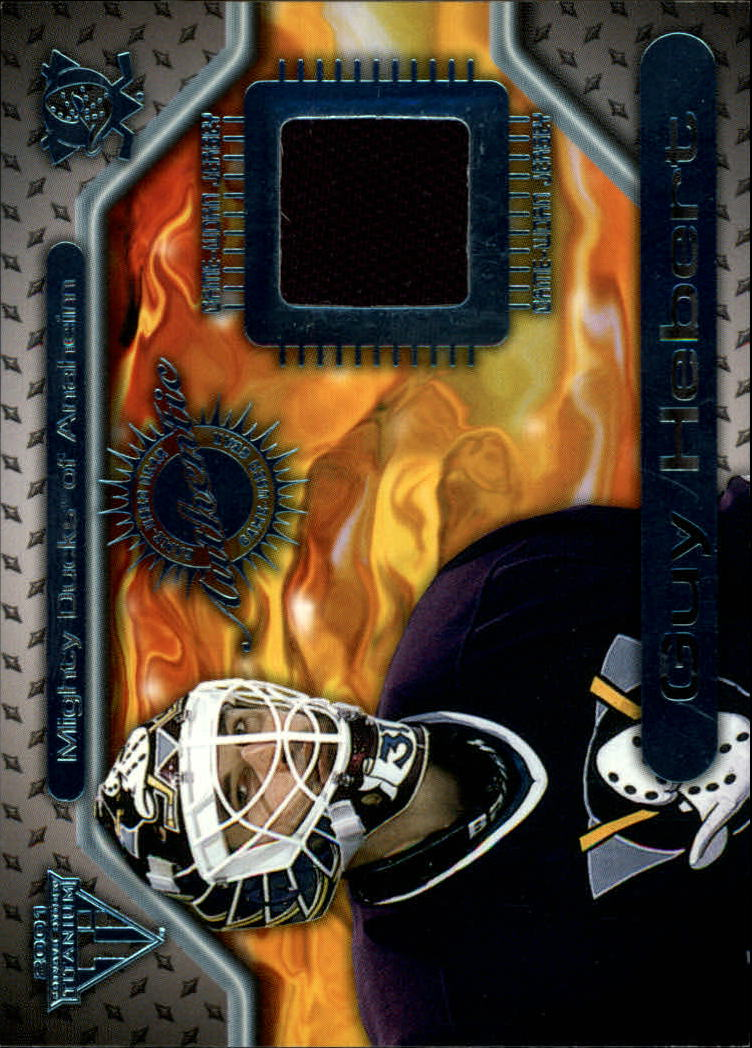 2000-01 Titanium Game Gear #52 Guy Hebert