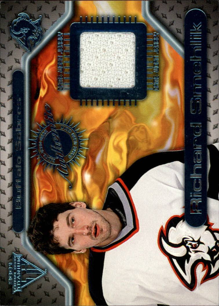 2000-01 Titanium Game Gear #62 Richard Smehlik