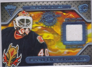 2000-01 Titanium Game Gear #64 Fred Brathwaite