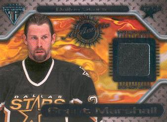 2000-01 Titanium Game Gear #88 Grant Marshall