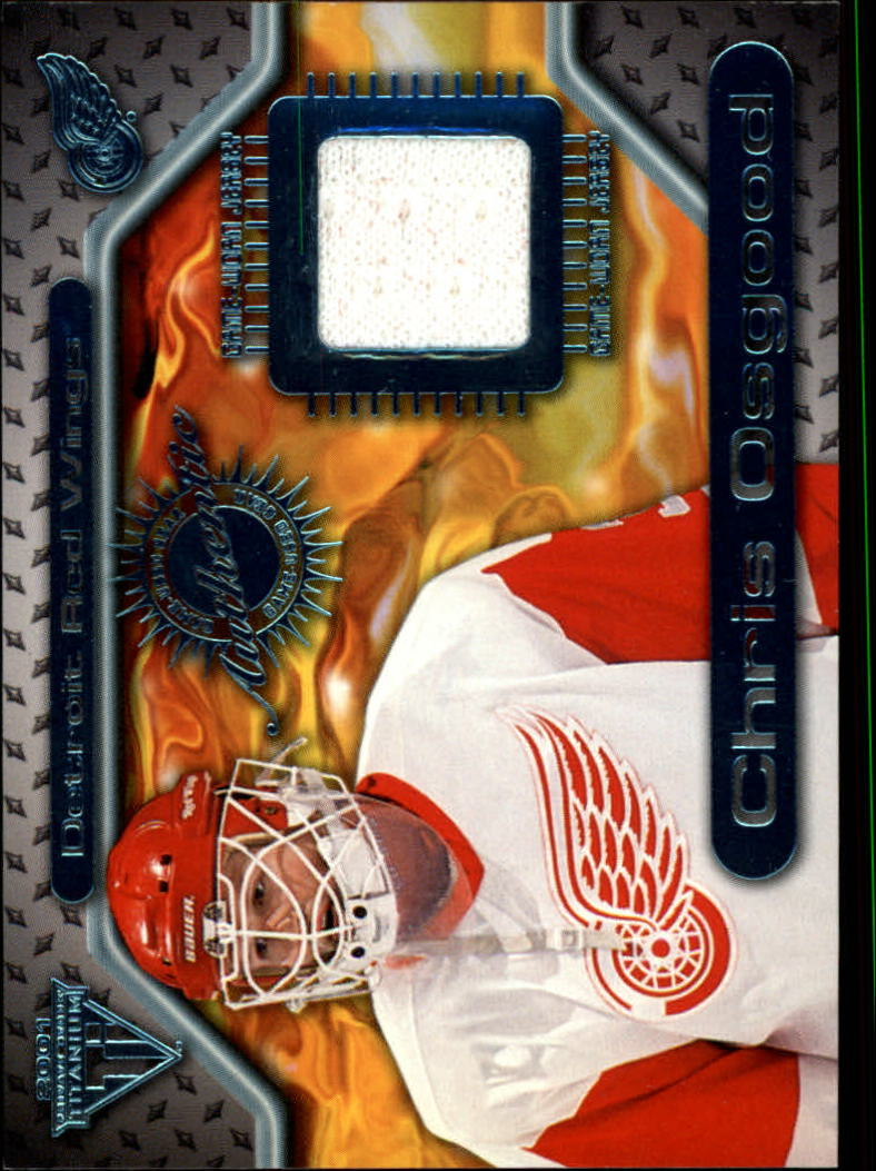 2000-01 Titanium Game Gear #96 Chris Osgood