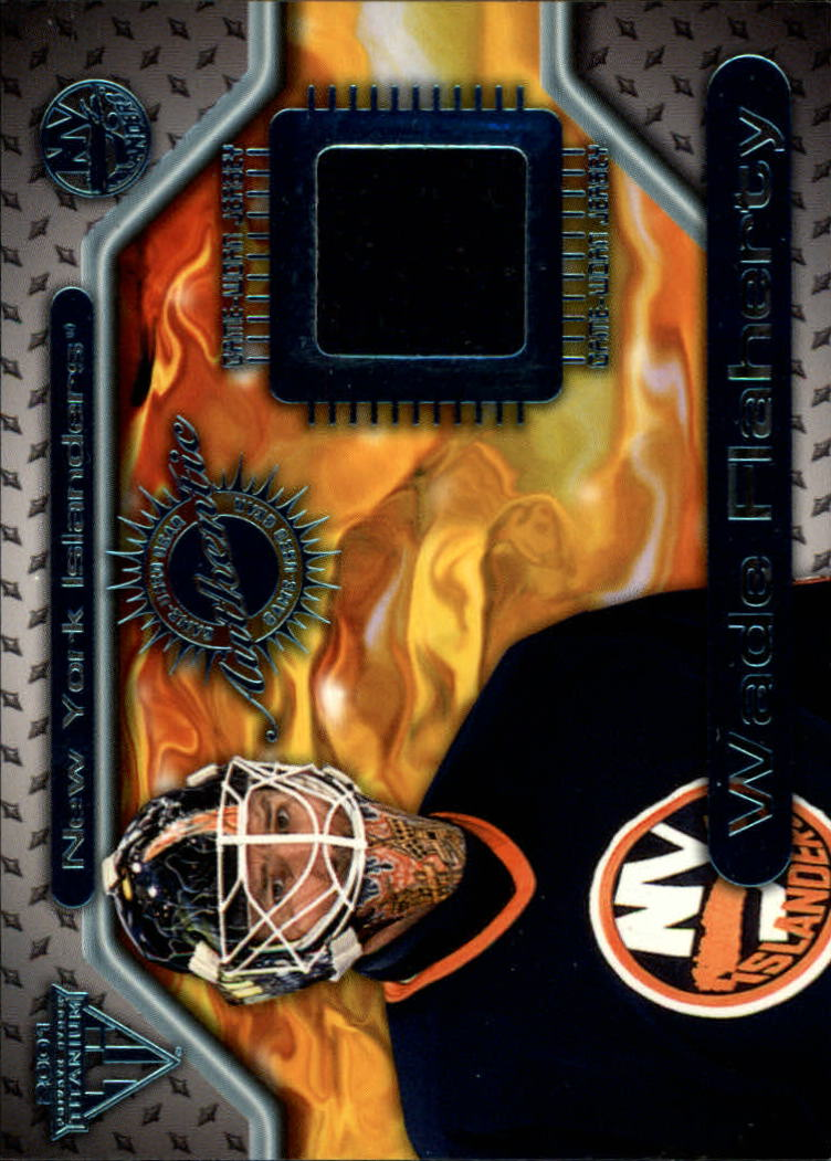 2000-01 Titanium Game Gear #109 Wade Flaherty