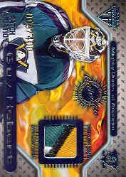 2000-01 Titanium Game Gear Patches #51 Guy Hebert/400