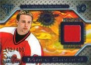 2000-01 Titanium Game Gear Patches #69 Marc Savard/400
