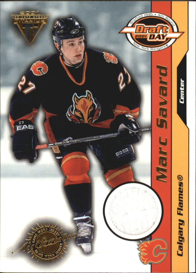 2000-01 Titanium Draft Day Edition #15 Marc Savard/1020