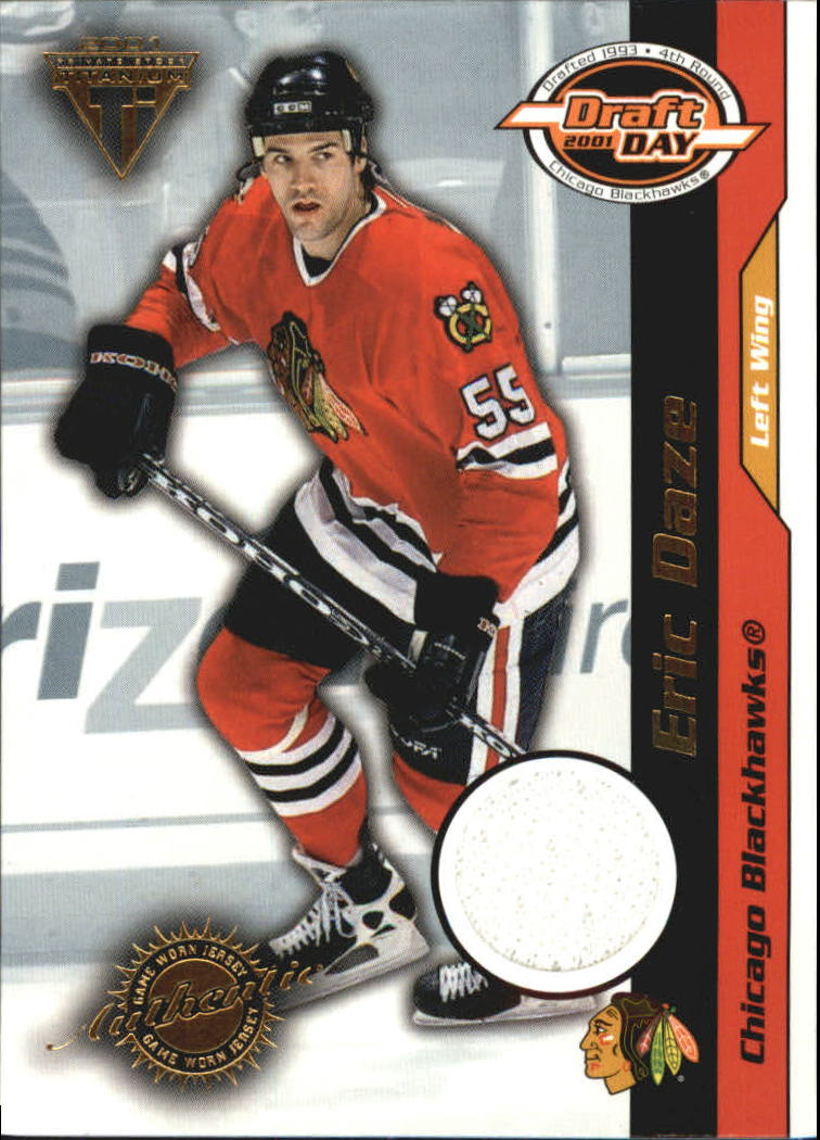 2000-01 Titanium Draft Day Edition #17 Eric Daze/1020