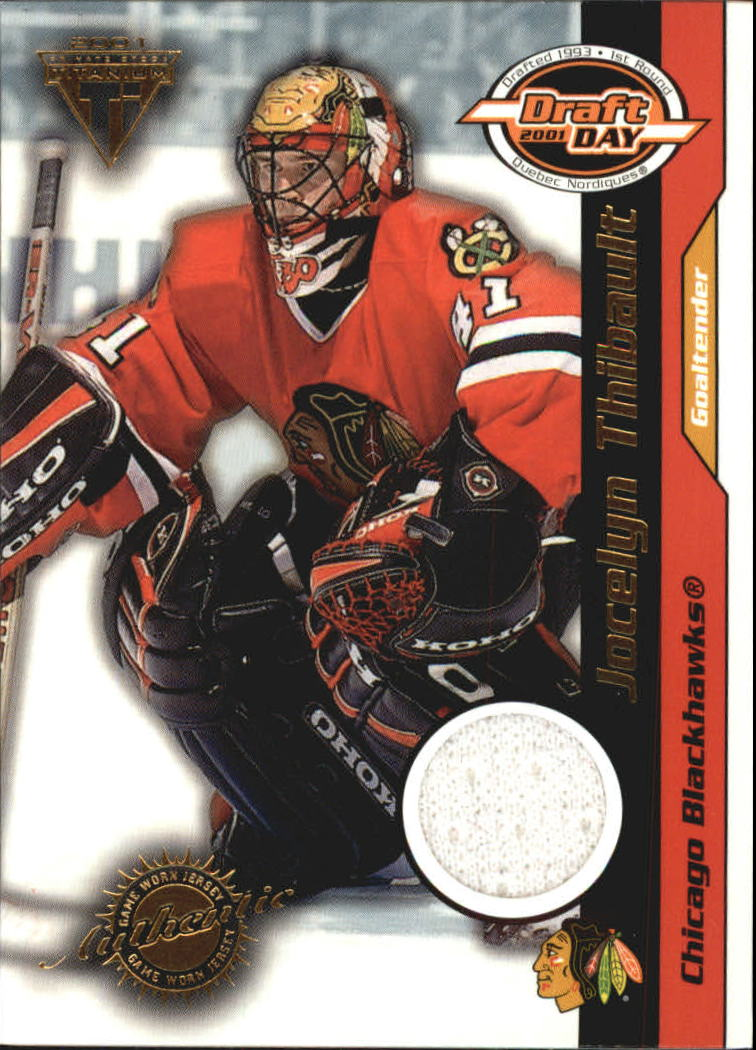 2000-01 Titanium Draft Day Edition #21 Jocelyn Thibault/1020
