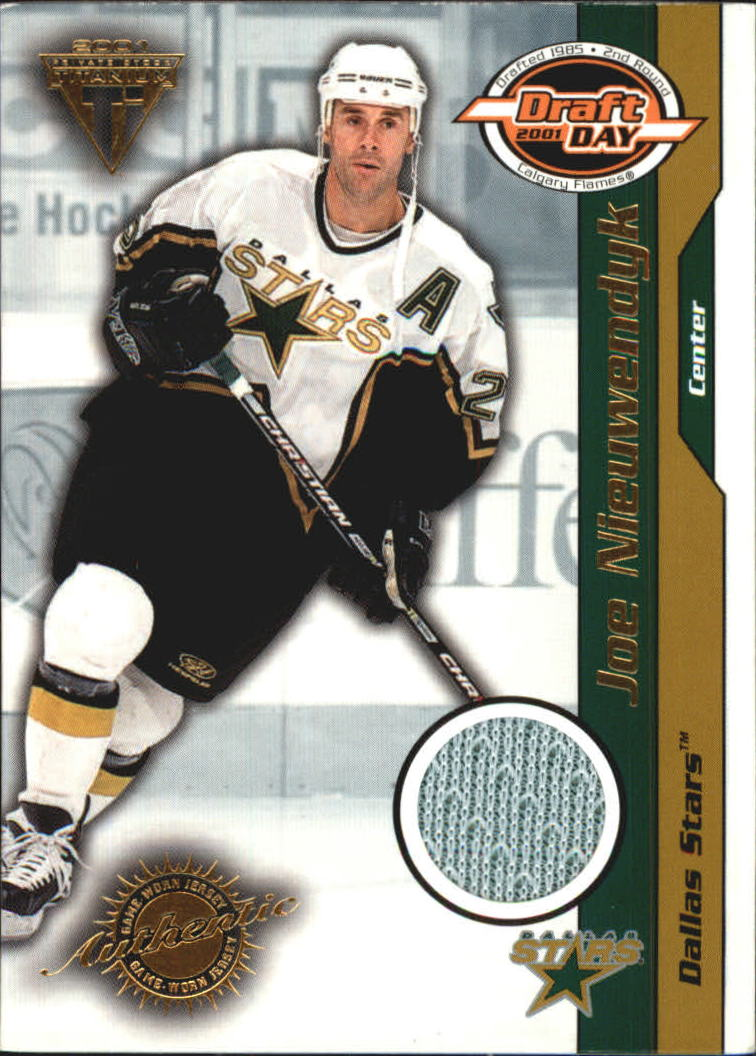 2000-01 Titanium Draft Day Edition #34 Joe Nieuwendyk/1015