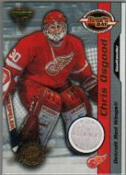 2000-01 Titanium Draft Day Edition #40 Chris Osgood/1020