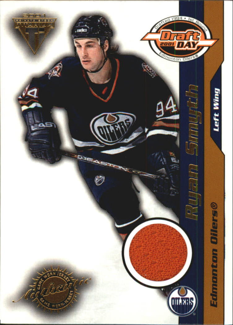 2000-01 Titanium Draft Day Edition #44 Ryan Smyth/1015