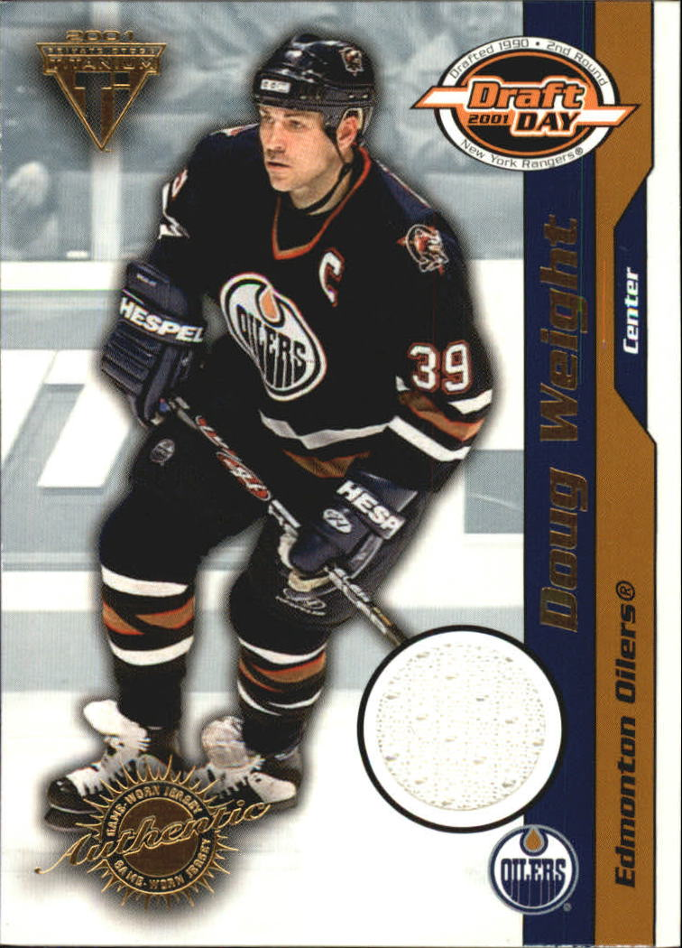 2000-01 Titanium Draft Day Edition #45 Doug Weight/520