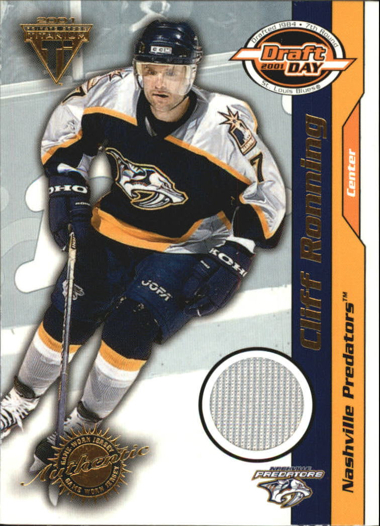 2000-01 Titanium Draft Day Edition #56 Cliff Ronning/520