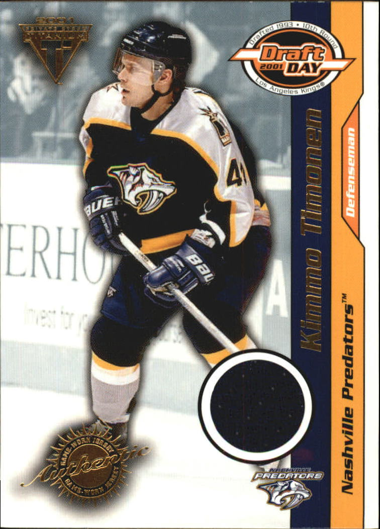 2000-01 Titanium Draft Day Edition #57 Kimmo Timonen/520