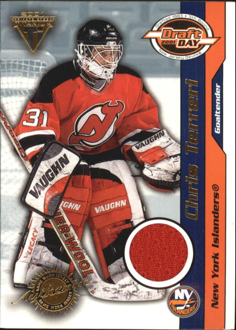 2000-01 Titanium Draft Day Edition #64 Chris Terreri/1020