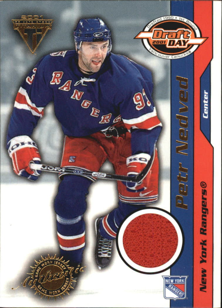 2000-01 Titanium Draft Day Edition #67 Petr Nedved/1015