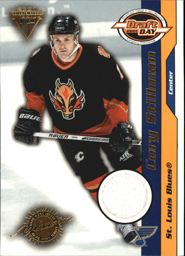 2000-01 Titanium Draft Day Edition #90 Cory Stillman/1010