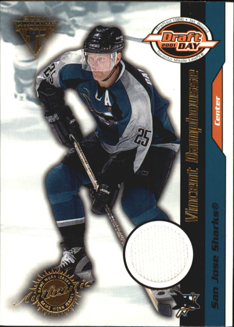 2000-01 Titanium Draft Day Edition #91 Vincent Damphousse/1015