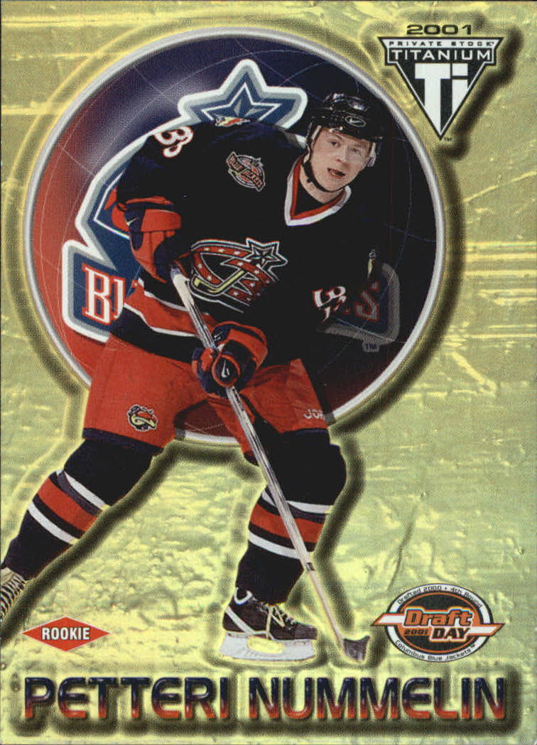 2000-01 Titanium Draft Day Edition #158 Petteri Nummelin RC