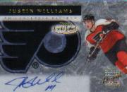 2000-01 Topps Gold Label Autographs #GLAJW Justin Williams