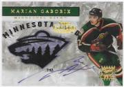 2000-01 Topps Gold Label Autographs #GLAMG Marian Gaborik