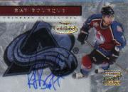 2000-01 Topps Gold Label Autographs #GLARB Ray Bourque